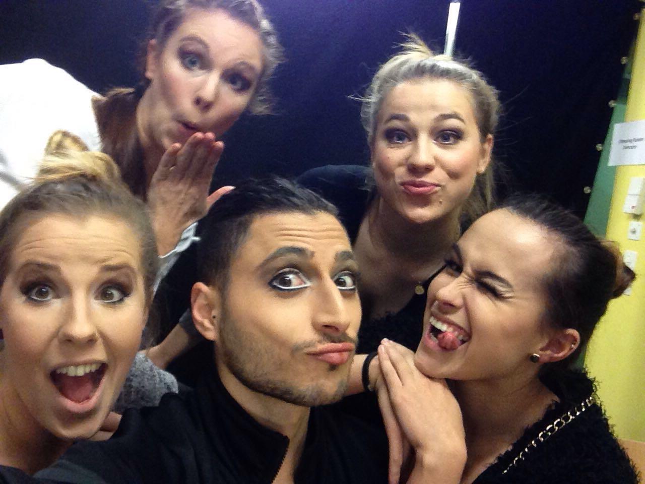 Our actors/dancers