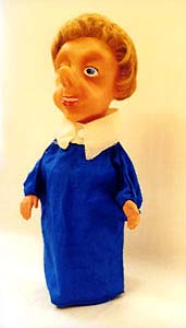 The original Bluebottle hand puppet