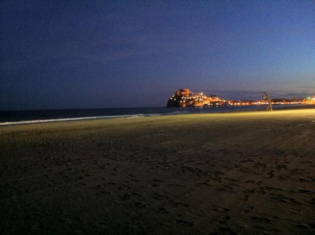 Peñiscola - Beach to Castle